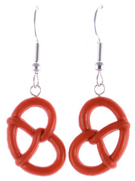 "Earrings ""Pretzels"""