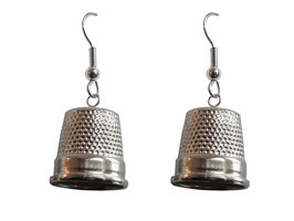"Earrings ""thimble"""