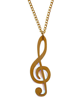 "Necklace ""Clef"""