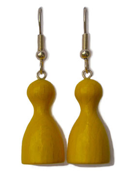 "Earrings ""Ludo Pegs"""
