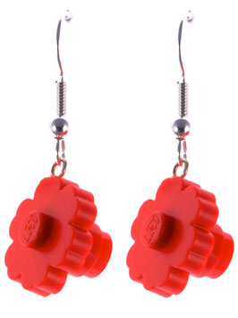 "Earrings ""Lego"" Flowers"
