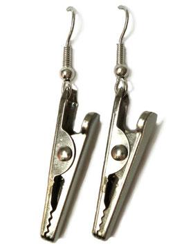 """Earrings """"Crocodile Clip"""""""