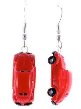 "Car Earrings ""Beetle"""