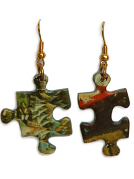 "Earrings ""Puzzle Pieces""    Die Bilder"