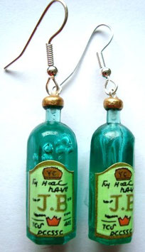 "Earrings ""Whiskey"""