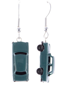 "Car Earrings ""Trabant"""