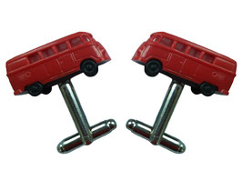 "Car Cufflinks ""Minivan"""