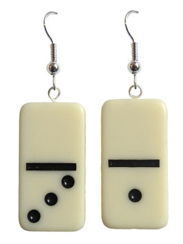 "Earrings ""Domino"""
