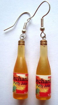 "Earrings ""Fruit Juice"""