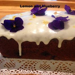 Loaf cake selection
