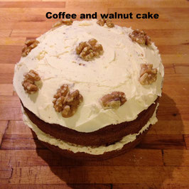 Coffee cake selection