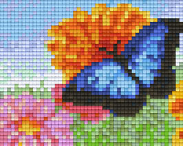 801364 Papillon bleu