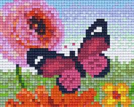 801339 Papillon rose
