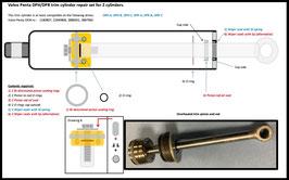 Volvo Penta DPH and DPR trim cylinder repair set