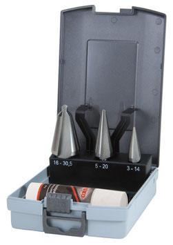 Blechschälbohrer-Satz HSS in ABS-Kunststoffkassette RUKO101020RO
