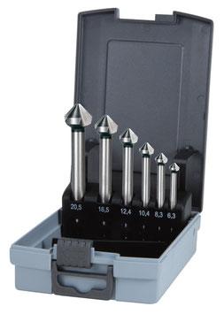 kegel- und Entgratsenkersatz DIN 335 Form C 90° HSS, mit langem Zylinderschaft RUKO102158RO