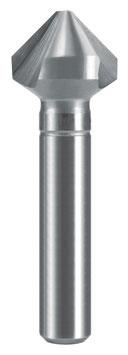 Kegel- und Entgratsenker DIN 335 Form C 90° HSS für Alu