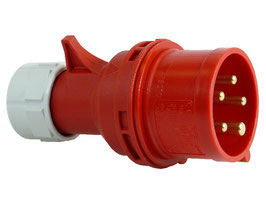 CEE-Steckerverbindung 400V / 16A 5-polig / IP 44