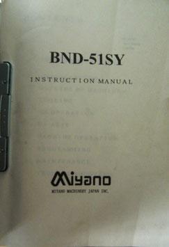 MiyanoBND-51SY Handbuch