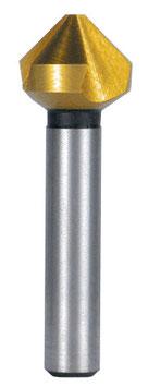 Kegel- und Entgratsenker DIN 335 Form C 90° HSS-TiN