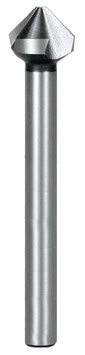 Kegel- und Entgratsenker DIN 335 Form C 90° HSS, mit langem Zylinderschaft