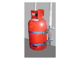 Gasflaschen-Transportsicherung