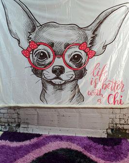 Kuscheldecke Chihuahua 1