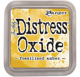 Encre Distress  OXIDE' FOSSILIZED AMBER