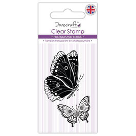 Clear Stamp_Butterflies Dovecraft
