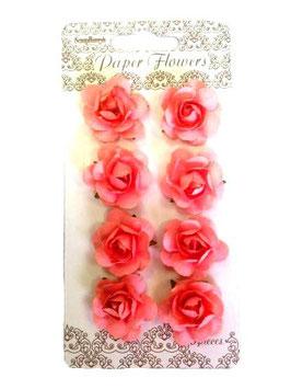 Fleurs (8) rose 20mm_Scrapberry's