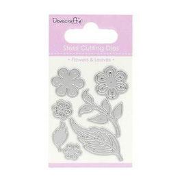 """Dies """"Fleurs & feuilles""""_Dovecraft"""