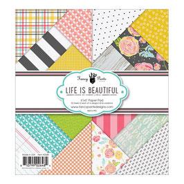 Paper Pads 15*15 Life Is Beautiful _ Fancy Pants