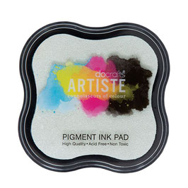 Docrafts Artiste Pigment Ink Pad - Clear Emboss