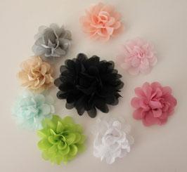 Fleurs en satin 5cm