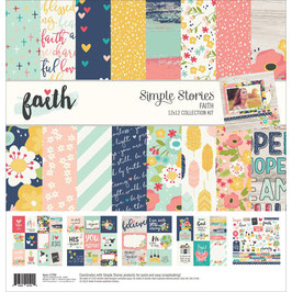 Faith - Simple Stories Collection Kit