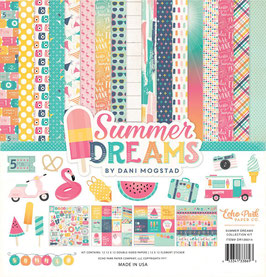 Echo Park - Summer Dream Collection - 30x30 Collection Kit