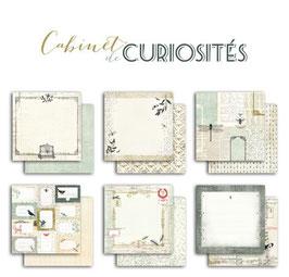 6 papiers Cabinet de curiosités Toga 30*30cm