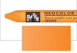 Néocolor2 Caran d'Ache aquarellable_Orangé