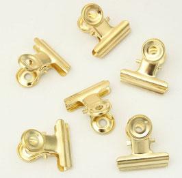Clip métal Or 22mm