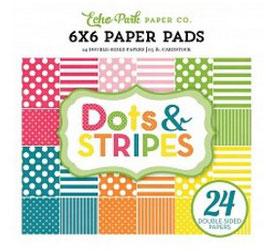 Echo Park Dots & Stripes Spring _Pad 15*15