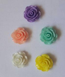 Fleur résine 20mm