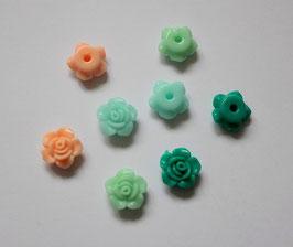 Fleur résine 13mm (2)