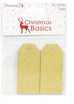 Tags Glitter Or