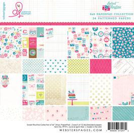 Pad Sweet routine_ Webster's Pages