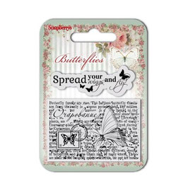 Tampon Clear Scrapberrys Buterflies3