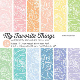My Favorite Things Rose all overt Pastels Pad 15*15