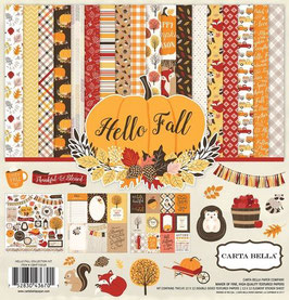 Pack 30*30 Carta Bella Hello Fall