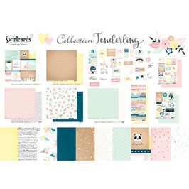 Pack Collection Tenderling Swirlcards
