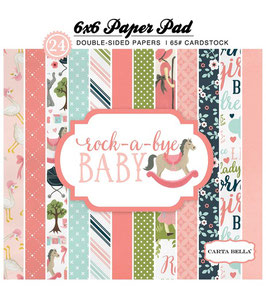Rock-A-Bye Baby Girl_Pad 15*15