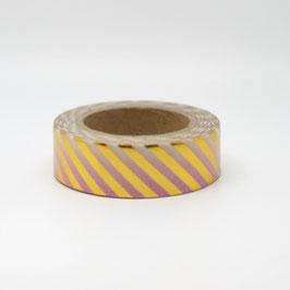 """Masking tape """"ombré or & rose"""""""